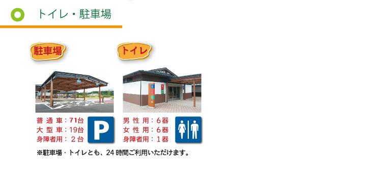 トイレ・駐車場